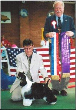 BRADLEY Best Minor Puppy in Show Victorian Specialty Show 2002